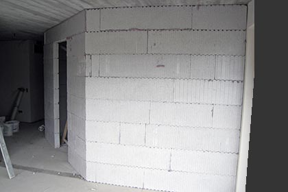 Solide Leichtbauwand von MAGU: stabil und schnell eingebaut
